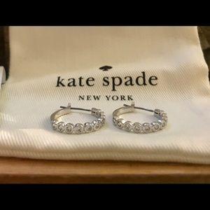 Kate Spade Full Circle Cubic Zirconia Earrings